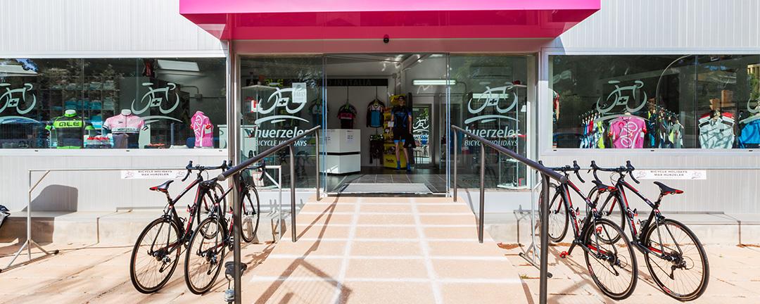 Cycling station at Playa de Palma: Pabisa Bali