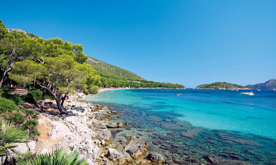EN Pabisa Hotel Mallorca Formentor beautiful beach