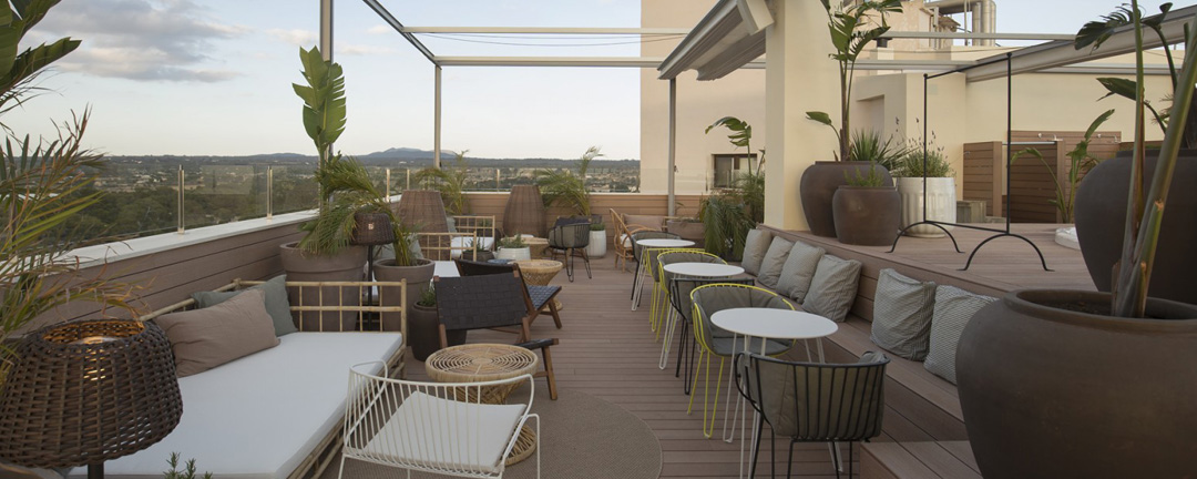 Pabisa Hotels builds the highest Sky Bar in Playa de Palma at the hotel Bali