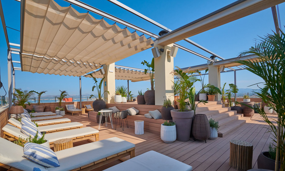 Amrum Sky Bar Pabisa Mallorca rooftop bar