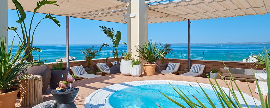 Best rooftop in Playa de Palma: Amrum Sky Bar