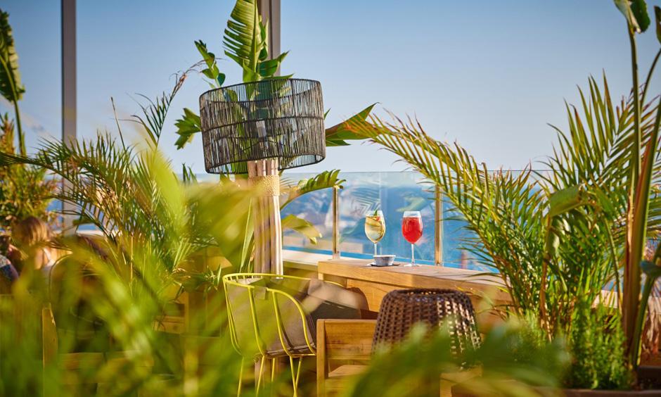 Pabisa Hotel Amrum Sky Bar rooftop drinks mallorca