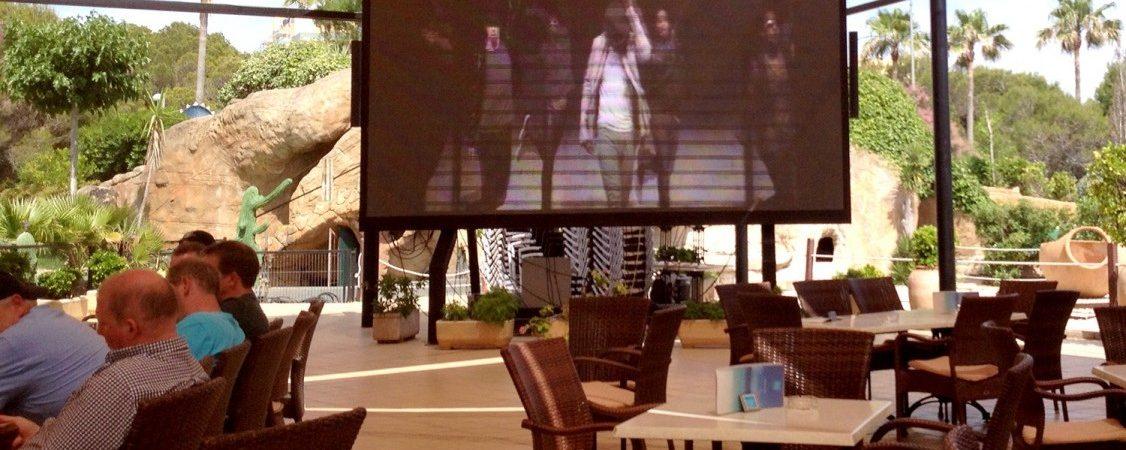 Vive el Mundial en directo en las pantallas más grandes y espectaculares de Playa de Palma