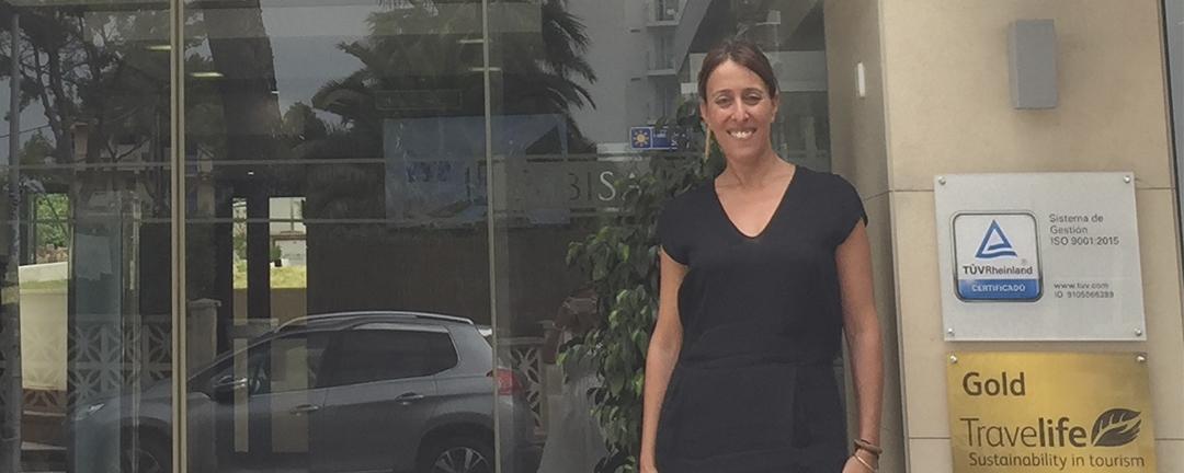 """Entrevista con Damiana Cerdá, adjunta a dirección del hotel Pabisa Orlando: """"Tenemos las puntuaciones de calidad más altas de toda la cadena"""""""