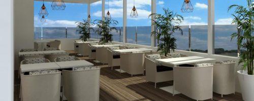 ES Pabisa Hotel Mallorca restaurante rooftop