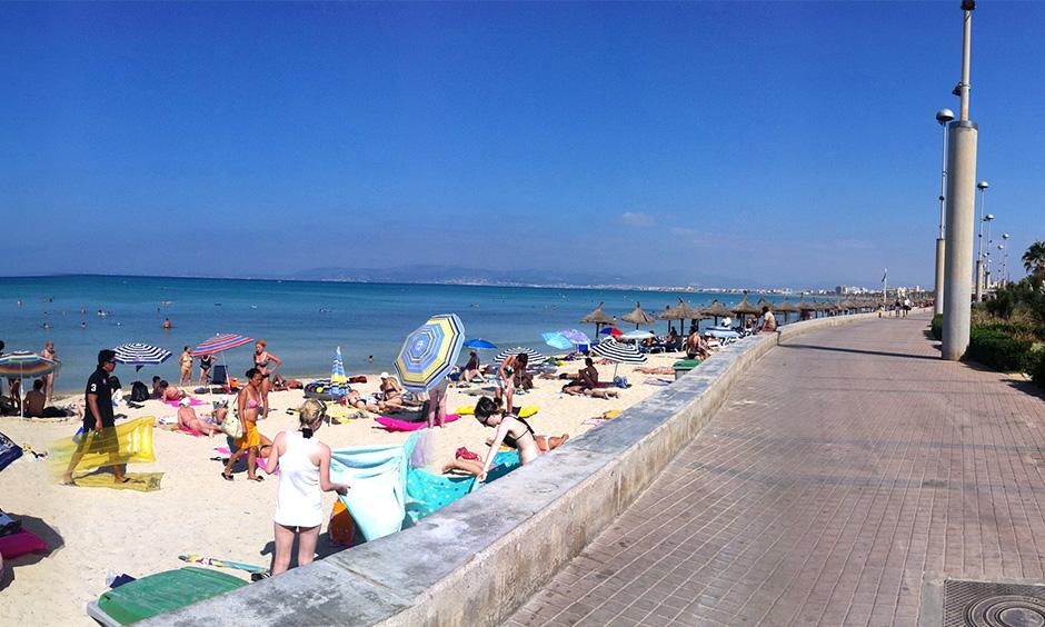 Playa de Palma Pabisa inversion Arenal Pabisa Hotels ubicacion Mallorca