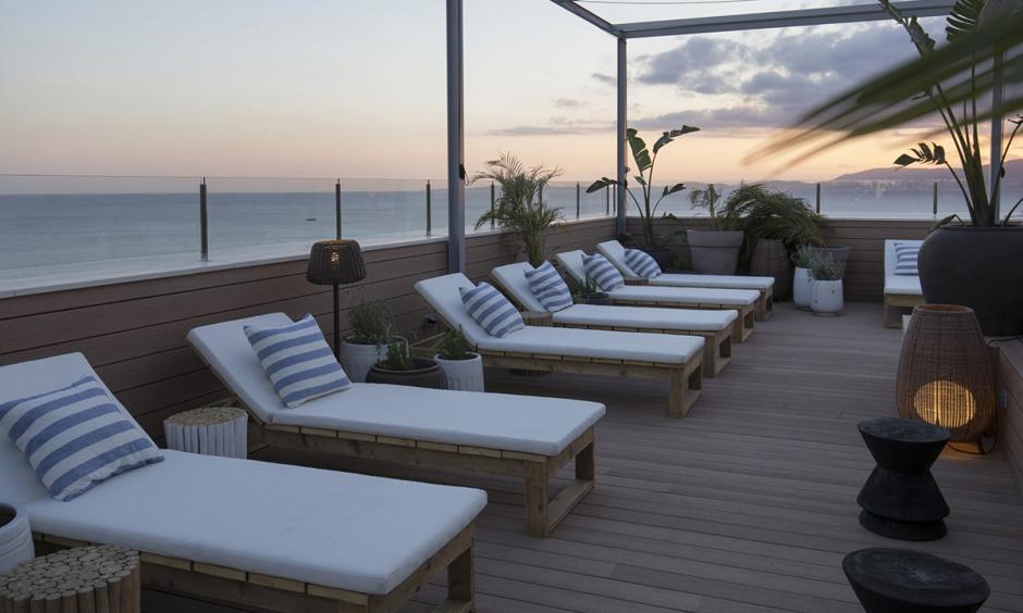 Pabisa bali hotel sky bar playa de palma