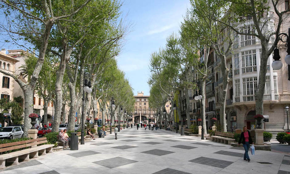 ES Pabisa Hotels shopping Palma Borne invierno