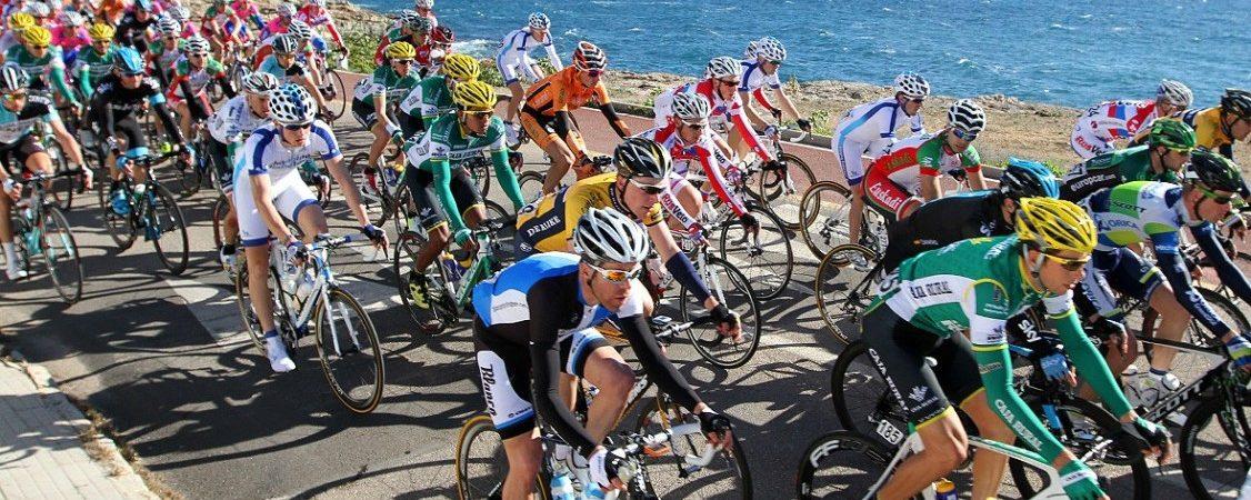 Start des XXIV. Radrennens Playa de Palma Challenge Ciclista Mallorca