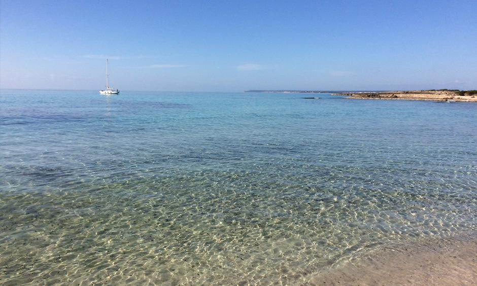 Pabisa Mallorca Mittelmeer Es Trenc Strand
