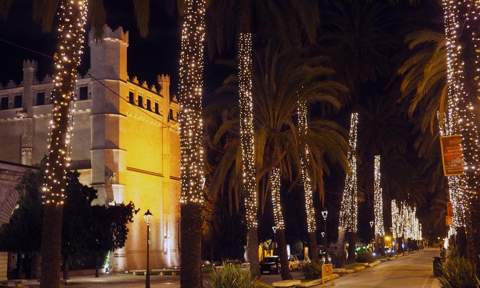 DE Pabisa Hotel Mallorca Luces Weihnachten