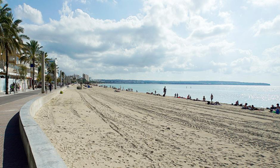 DE Pabisa Playa de Palma San Juan Strand Mallorca