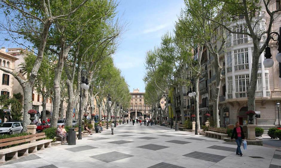 DE Pabisa Hotels Einkaufen Palma Borne Winter